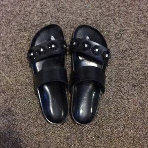 Ashley Stewart's sandals